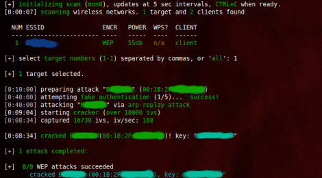 Update Wifite : An automated wireless attack tool.
