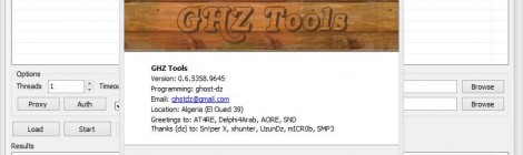 GHZ Tools v-0.6 Released ; web Application Vulnerability Scanner.