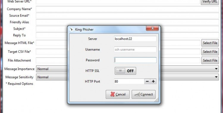 Updates King Phisher v-0.1.7 : a phishing-focused social engineering campaign.
