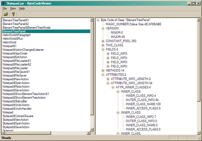 how to use procyon java decompiler