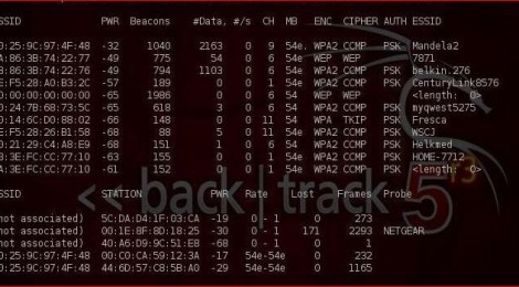 WPA Attack - Extremly simple script that can be used to crack WPA network password.