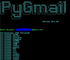 PyGmail is a Pen-Testing BruteForce program.