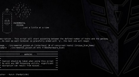 MITM_Toolkit is A toolkit for automating MITM attack management.