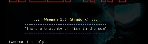 Weeman v1.3 codename Armwork released.