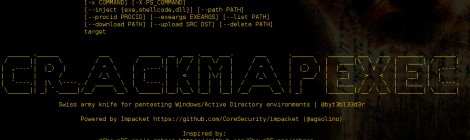 CrackMapExec - A swiss army knife for pentesting Windows/Active Directory environments.