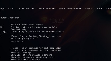 Cartero v10-9-15 : A robust Phishing Framework with a full featured CLI interface.