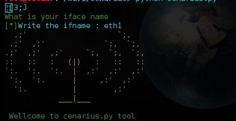 Cenarius ~ is a wifi cracking tools.