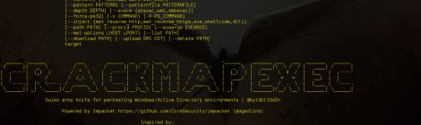 CrackMapExec v-1.0.9 released - A swiss army knife for pentesting Windows/Active Directory environments.