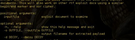 rtf_exploit_extractor Script to extract malicious payload and decoy rtf document.