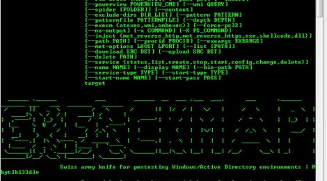 CrackMapExecWin v2.1 released - CrackMapExec tool for windows.