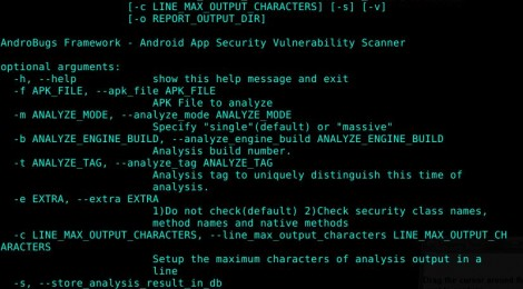 AndroBugs Framework - Android App Security Vulnerability Scanner.