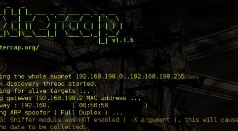BetterCap v1.1.6 : A complete, modular, portable and easily extensible MITM framework.