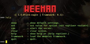 Weeman Version 1.6 (Black-eagle)