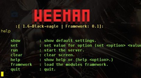 Weeman v-1.6 (Black Eagle) released - HTTP Server for phishing.