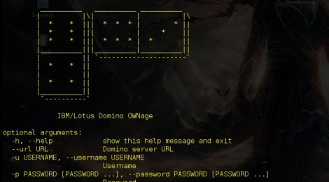 Updates domi-owned : IBM/Lotus Domino exploitation.