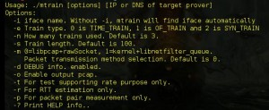 magictrain is A bandwidth measurement tool against bandwidth inflation attacks. Support All Linux Platform