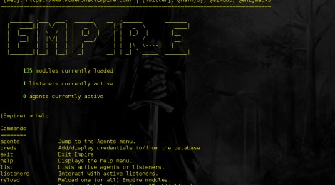 Empire v1.3.6 released : PowerShell post-exploitation agent.