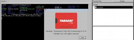Faraday v1.0.16 released - Collaborative Penetration Test and Vulnerability Management Platform.