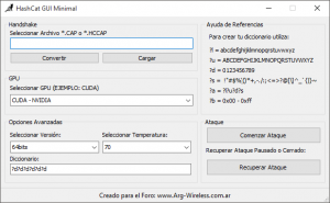 hashcat gui minimal for windows x86/x64.