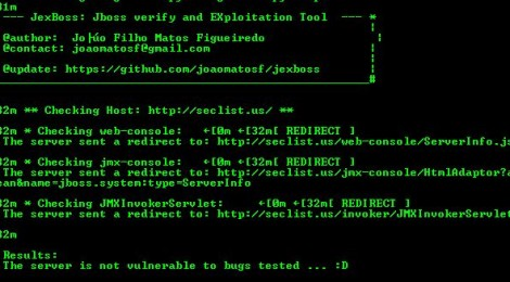 JexBoss: Jboss verify and Exploitation Tool.