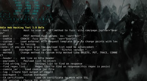 0d1n v2.0 Beta - is a tool for automating customized attacks against web applications.