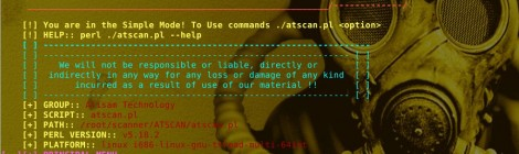 Updates ATSCAN - perl script for vulnerable Server, Site and dork scanner.