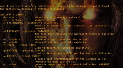 Windows-Exploit-Suggester v3 1  – Security List Network™