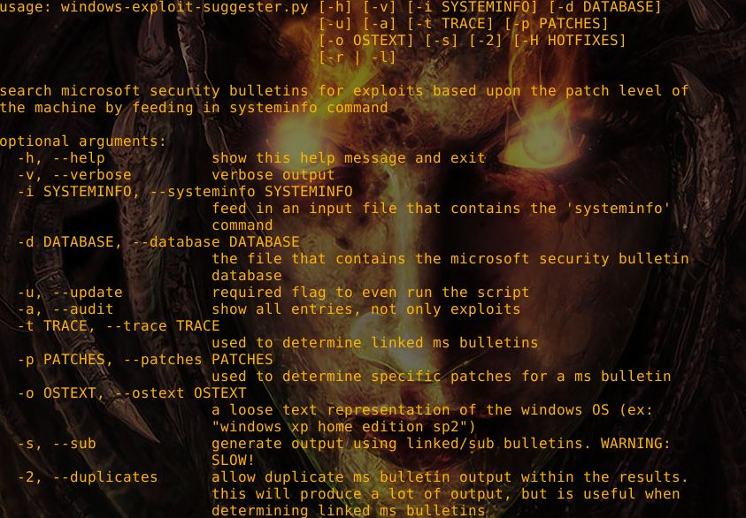 Windows-Exploit-Suggester revision v3 0 released  – Security