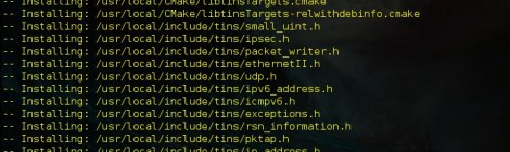 Libtins v-3.3 : a high-level, multiplatform C++ network packet sniffing and crafting library.