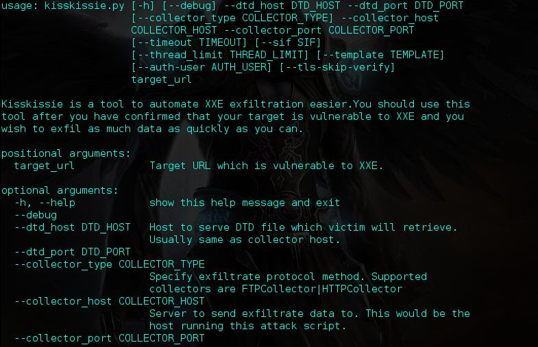 kisskissie – Simple proof of concept eXternal Xml Entity (XXE) scan ...