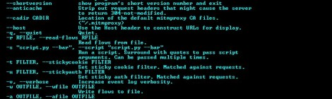 mitmproxy v0.16 :  is an interactive, SSL-capable man-in-the-middle proxy for HTTP with a console interface.