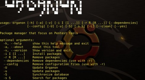 organon - Package manager that focus on Pentest tools.