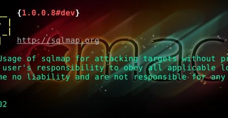 sqlmap v1.0.0.8#dev - Automatic SQL injection and database takeover tool.