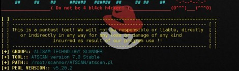 ATSCAN v7.0 stable - perl script for vulnerable Server, Site and dork scanner.