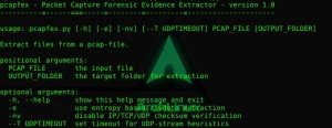 'Packet CAPture Forensic Evidence eXtractor' is a tool that finds and extracts files from packet capture files.