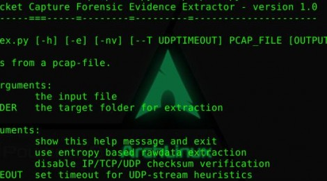 pcapfex - Packet Capture Forensic Evidence eXtractor.