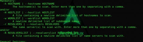 subsearch is a command line tool designed to brute force subdomain names.