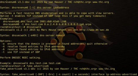 thc-ipv6 v3.1dev update - IPv6 attack toolkit.