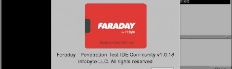 Faraday v1.0.18 - Collaborative Penetration Test and Vulnerability Management Platform.