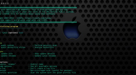 Lynis v2.2.1 : is a system and security auditing tool for Unix/Linux.
