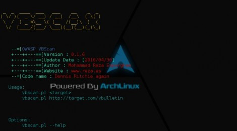 Owasp VBScan v0.1.6 - is a Black Box vBulletin Vulnerability Scanner.