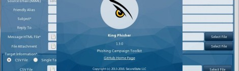 King Phisher v1.3.0 - a phishing-focused social engineering campaign.