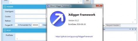 Xdigger Framework is a Network Security Testing Assist Framework.
