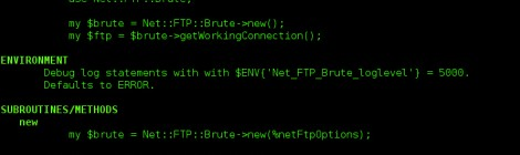 Net::FTP::Brute - a bruteforce (p)ftp connection handler to bypass strange corporate firewalls.