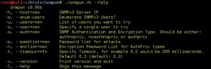 snmpwn - An SNMPv3 User Enumerator and Attack tool.