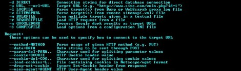 sqlmap v1.0.6 - Automatic SQL injection and database takeover tool.