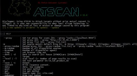 ATSCAN v11.8 - Advanced Search & Dork Mass Exploit.