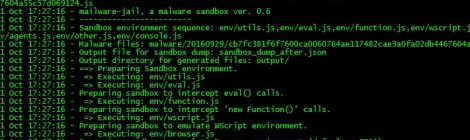 malware-jail v0.6 - sandbox for semi-automatic Javascript malware analysis and payload extraction.