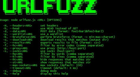 urlfuzz - Another web fuzzer written in NodeJS.