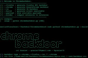 ChromeBackdoor